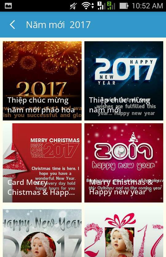 Hướng dẫn tạo thiệp chúc mừng năm mới với ứng dụng Ephoto 360 - Hiệu ứng ảnh