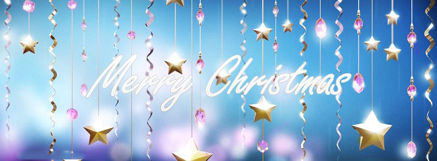 Cover facebook merry christmas đẹp