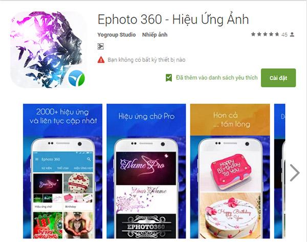 Ứng dụng ghép ảnh trực tuyến cho android hoàn toàn miễn phí