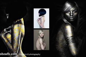 Chia sẻ photoshop action hiệu ứng body painting miễn phí