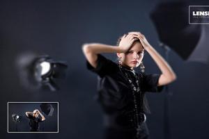 Chia sẻ Photoshop Action tạo hiệu ứng Lensbeby miễn phí