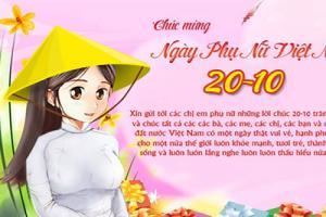 Bộ thiệp chúc mừng ngày quốc tế phụ nữ Việt Nam không nên bỏ qua