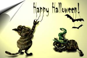 Thiệp chúc mừng ngày lễ halloween đẹp