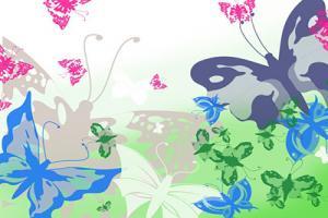 Chia sẻ brushes bướm (butterfly) cho photoshop