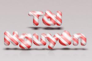 Share psd hiệu ứng chữ kẹo ấn tượng