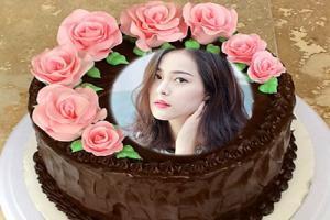 Hướng dẫn ghép ảnh bánh sinh nhật chỉ trong 3s