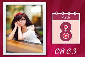 Top các khung ảnh women day đặc sắc nhất tháng 3