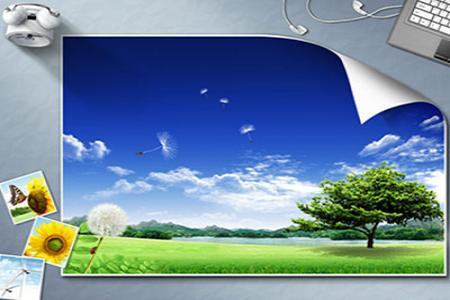 Share PSD mockup hình nền thiên nhiên đẹp