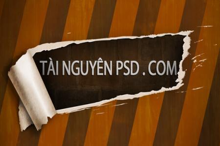 Chia sẻ PSD mockup tường gạch đẹp