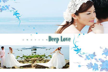 Chia sẻ PSD mẫu thiết kế album ảnh cưới đẹp số 6