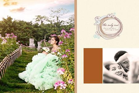 Mẫu psd thiết kế album ảnh cưới đẹp