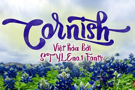 Chia sẻ font chữ Bold Script Cornish Việt hóa