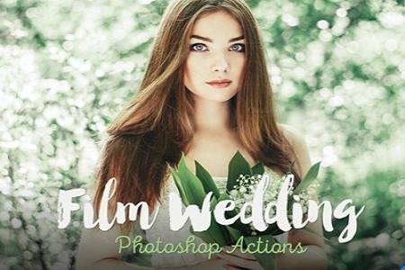 Chia sẻ photoshop action 30 gam màu phim cho chỉnh màu ảnh cưới