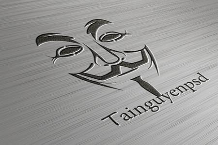 Chia sẻ free steel logo mockup PSD