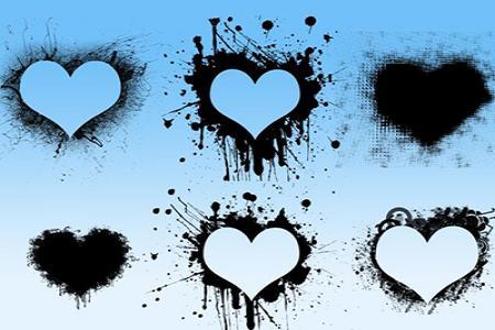 Chia sẻ brushes trái tim buồn