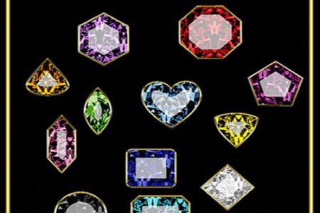 Share file style photoshop đá quý và kim cương